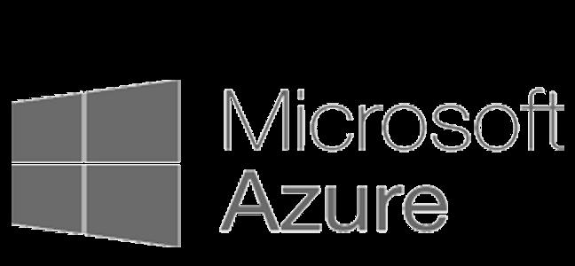 Microsoft Azure logo grey